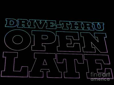 Photograph - Open Late by Ed Weidman