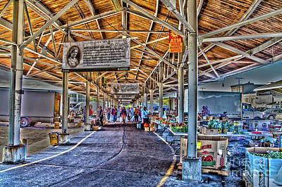 Photograph - Open Market by William Norton