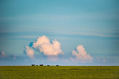 Photograph - Open Range Horizon by Jeff Phillippi