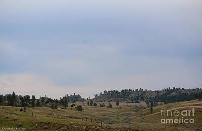 Photograph - Open Range Montana by Susan Herber