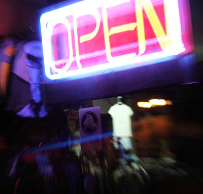 Photograph - Open by Ric Bascobert