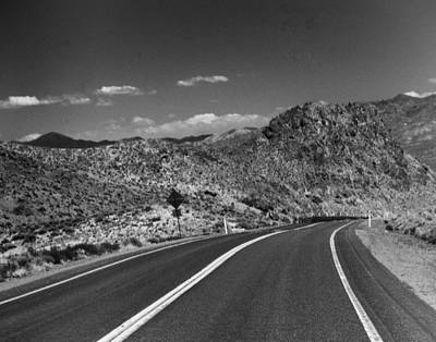 Photograph - Open Road - Nevada by Ann Tracy