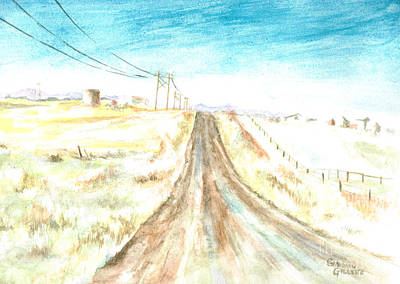 Painting - Country Road by Andrew Gillette