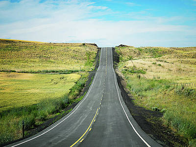 Photograph - Open Road by Lynn Wohlers