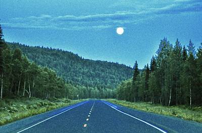 Photograph - Open Roads In Alaska by Joe Burns