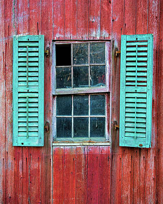 Photograph - Open Shutters by John Vose