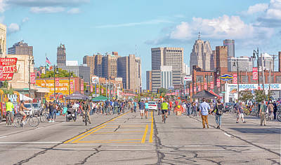 Photograph - Open Streets by J Gates Photography
