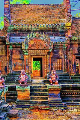 Photograph - Open Temple by Rick Bragan