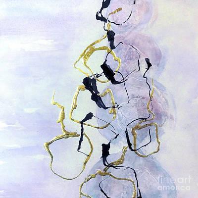 Wall Art - Painting - Open Tetris 1 by Chris Paschke