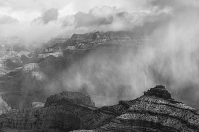Photograph - Open The Fog Curtain Bw by Jonathan Nguyen