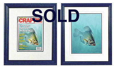 Open Water Crappie Art Print