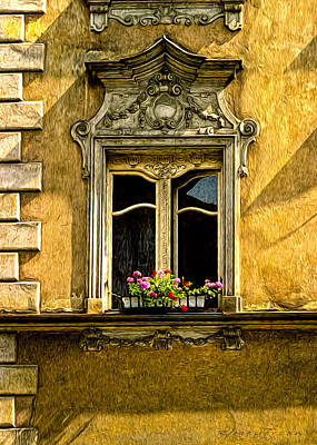 Open Window Art Print by Robert Meyerson