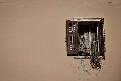 Photograph - Open Window - Rovinj Croatia by Stuart Litoff