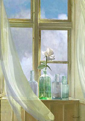 Digital Art - Open Window by IM Spadecaller