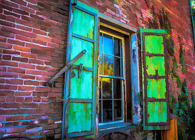 Photograph - Open Window To The Past by Steph Gabler