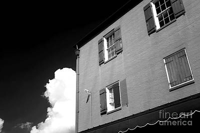 Photograph - Open Windows In The Quarter Infrared by John Rizzuto