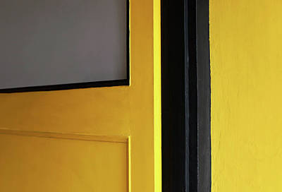 Photograph - Open Yellow Door by Prakash Ghai