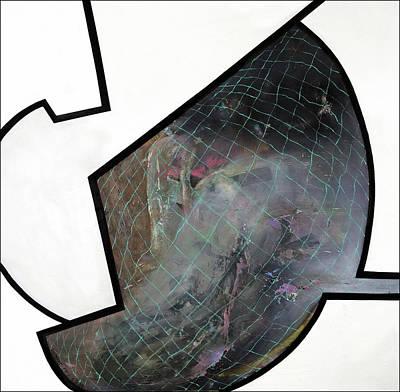 Baselitz Painting - Open Your Mind by Antonio Ortiz