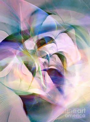 Digital Art - Opening 7 by Helene Kippert