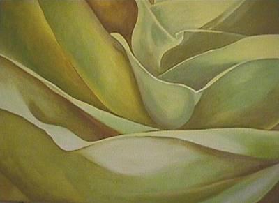 Painting - Opening by Jan Swaren