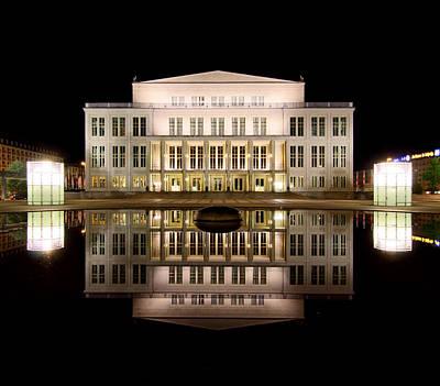 Photograph - Opera - Leipzig by Marc Huebner