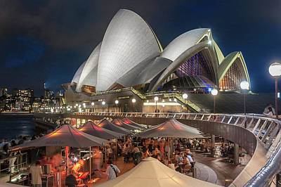 Sydney Skyline Photograph - Opera Bar by Emanuele Carlisi