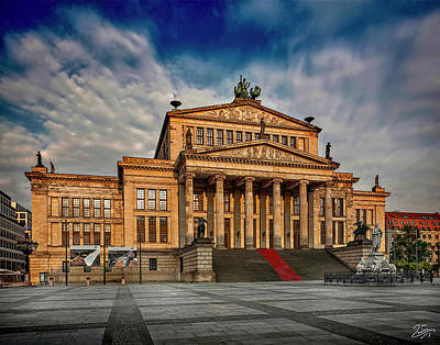 Photograph - Opera House In Eastern Berlin by Endre Balogh
