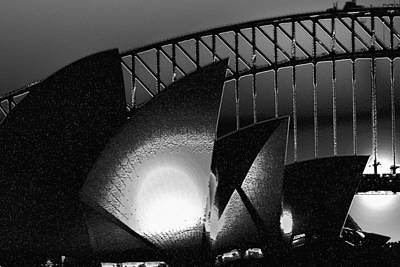 Photograph - Opera House Light And Texture by Miroslava Jurcik