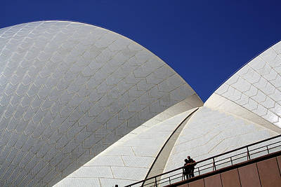 Photograph - Opera House Visitors by Nareeta Martin