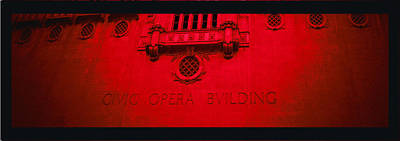 Photograph - Opera In Red And Black by Tony Grider