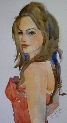 Painting - Opera Singer by Janet Butler