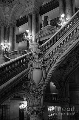 Photograph - Opera Stairways by Louise Fahy