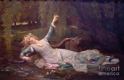 Ophelia 1883 Art Print