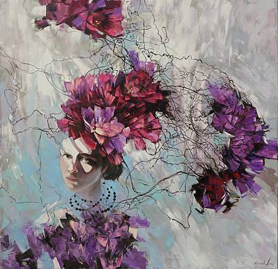 Painting - Ophelia by Anastasija Kraineva