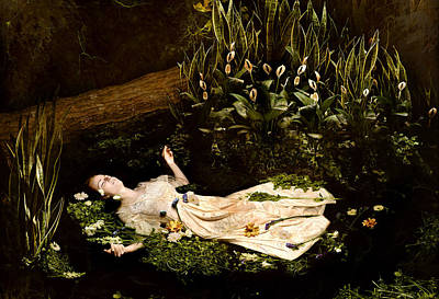 Ophelia Art Print by Jacquie Thuemler