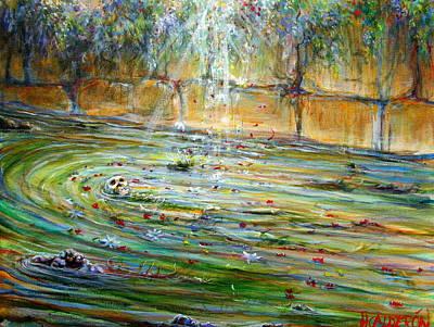 Painting - Ophelia Muerta by Heather Calderon
