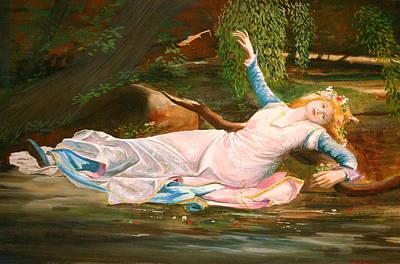 Ophelia  Art Print by Steve Jones