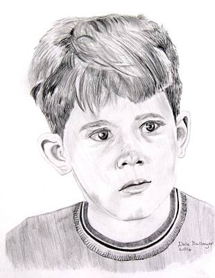 Mayberry Rfd Drawing - Opie  by Dale Ballenger