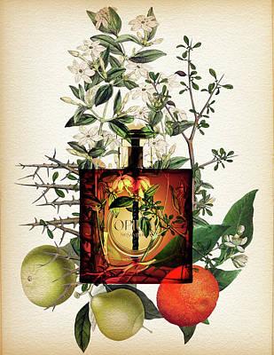Opium Notes 2 - By Diana Van Art Print