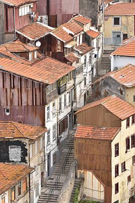 Oporto Houses Art Print