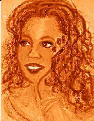 Mixed Media - Oprah by Desline Vitto