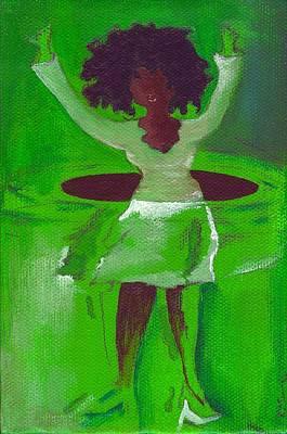 Oprah Hulas Art Print by Ricky Sencion