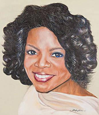 Oprah Winfrey Art Print
