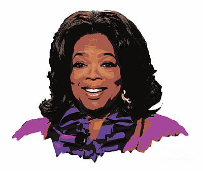 Oprah Winfrey  Art Print by Pd