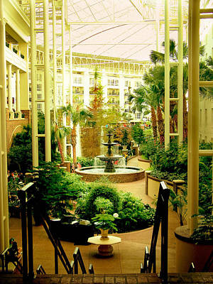 Photograph - Opryland Hotel by Trish Tritz