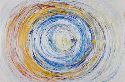 Opt.25.15 Tunnel Of Hope Original by Derek Kaplan