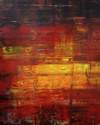 Derek Painting - Opt.60.16 Blaze by Derek Kaplan
