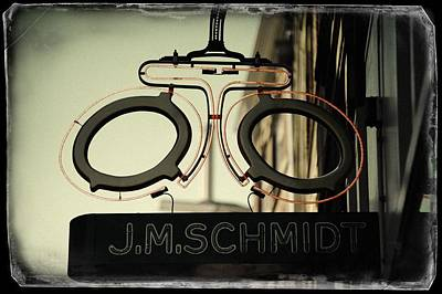 Photograph - Optic Of J. M. Schmidt. Old Cards From Amsterdam by Jenny Rainbow
