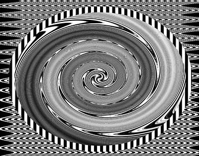 Op Art Photograph - Optical Art 3 by Eleanor Bortnick