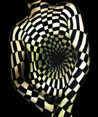 Natalie Fletcher Photograph - Optical Illusion 2 by Natalie Fletcher
